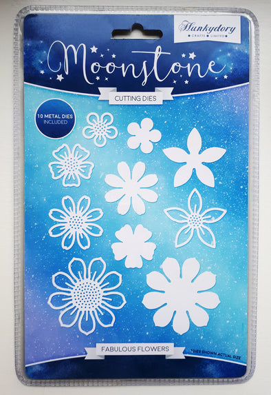 Hunkydory Moonstone Cutting Dies - Fabulous Flowers