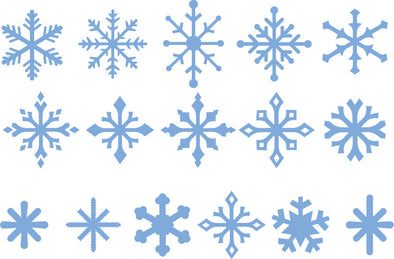Snowflakes - Sets 1, 2 and 3