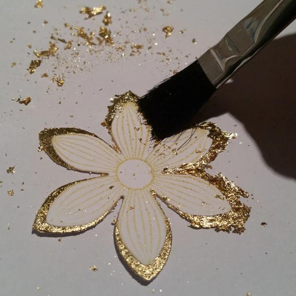 Royal & Langnickel Glue Brushes with Gilding Flakes