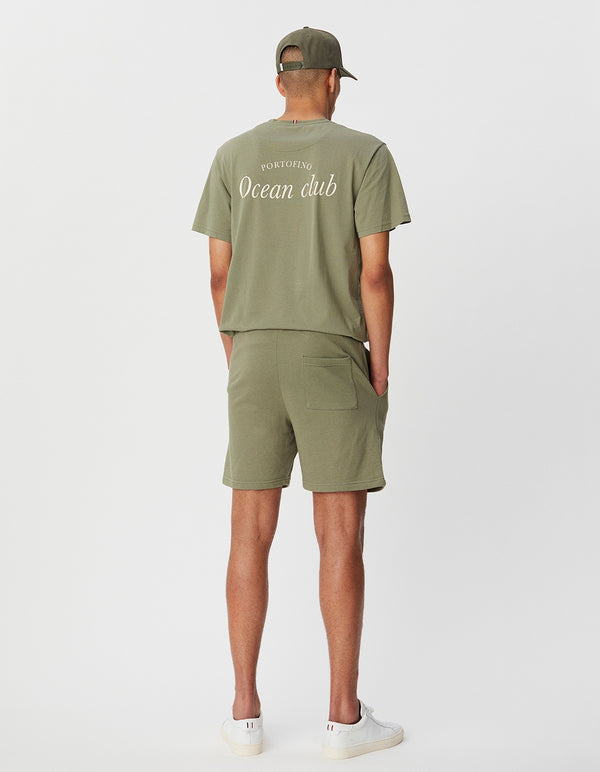 Les Deux MEN Ocean Club T-Shirt T-Shirt 510510-Lichen Green