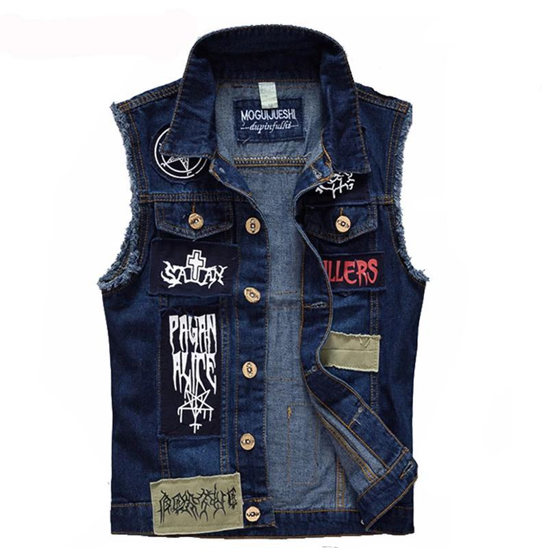 Gilet jeans Goth Veste Goodz.world M