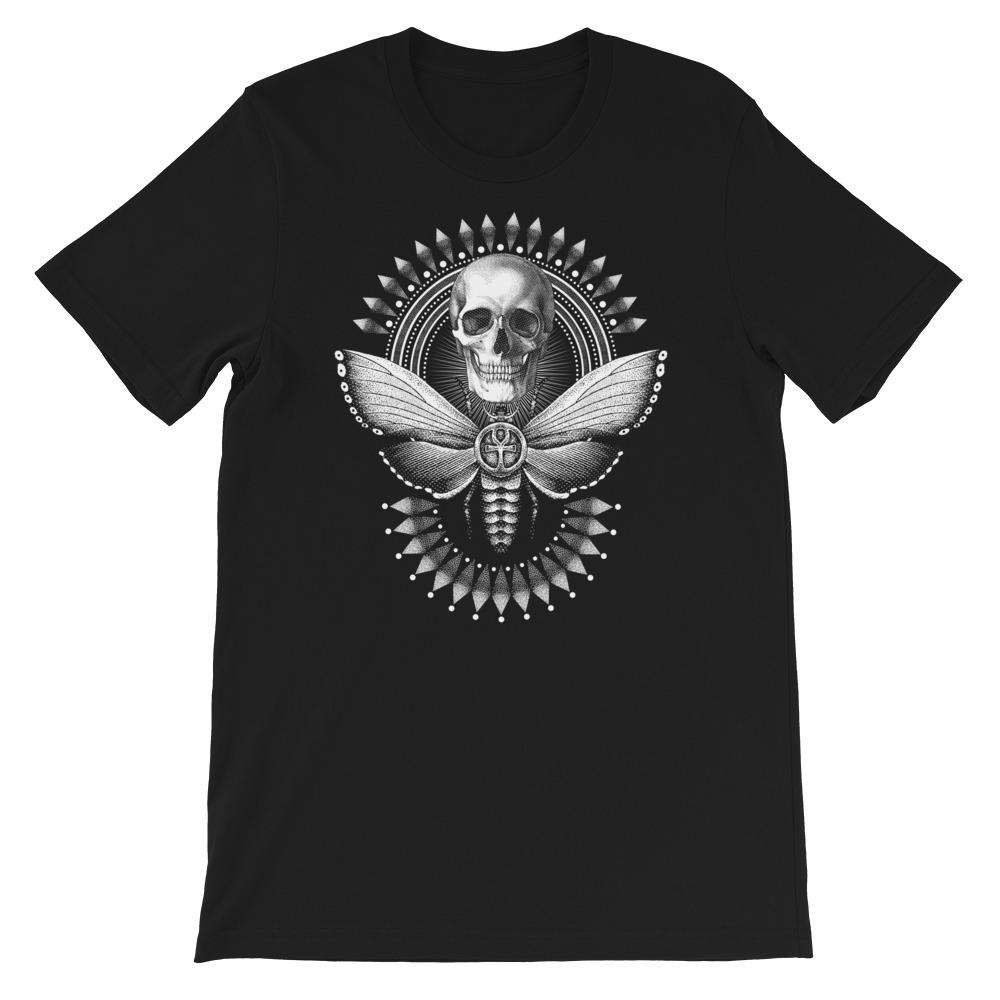 T-shirt - Sphinx tête de mort T-shirt Goodz.world XS