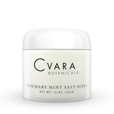 Rosemary Mint Salt Scrub 12oz