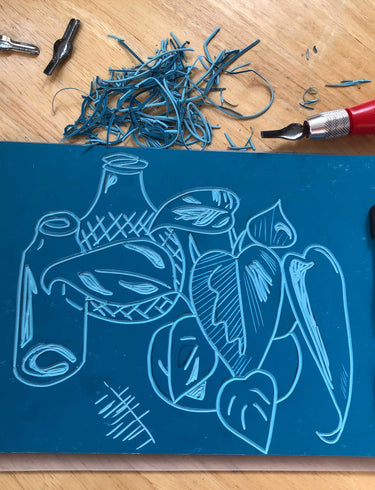 Spotlight: At Home Lino Printing Kit