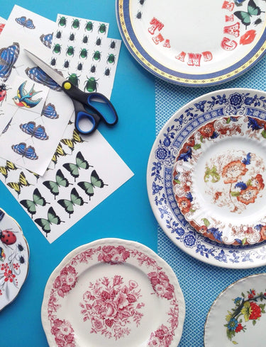Vintage China Upcycling Workshop for Two