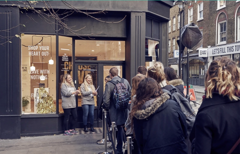 independent shops in London 2