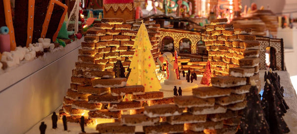 Feelgood festive Museum of Architecture's Gingerbread City, Somerset House