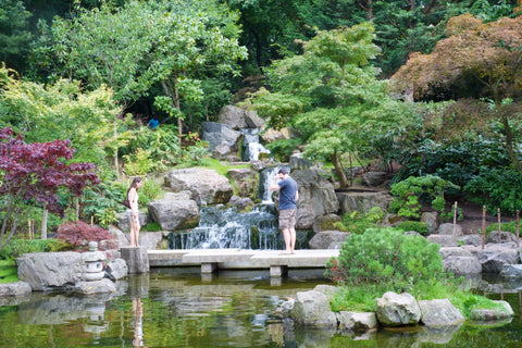 Secret London picnic spots | Kyoto Garden, Holland Park