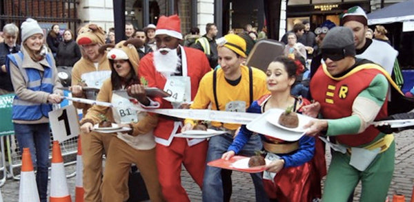 Feelgood festive The Great Christmas Pudding Race