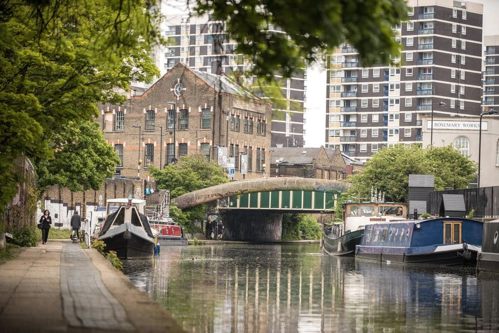 Regent Canal by James Millar