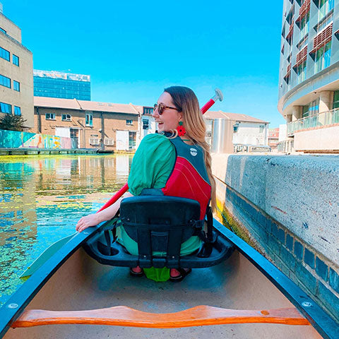 Six activities for six people | canoeing in Little Venice