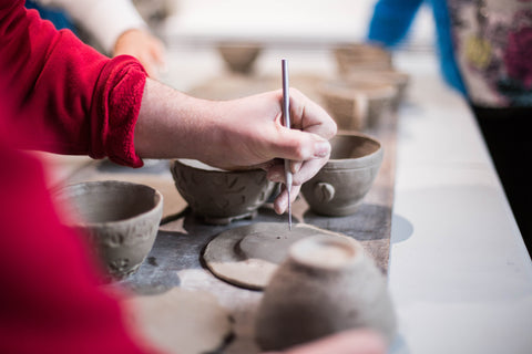 handbuilding pottery workshop in London