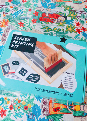 Indytute At Home Screen Printing Kit Experience