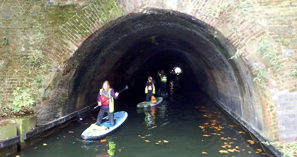 Paddleboarding Through London for Two