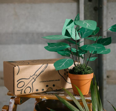 dinner party gift ideas paper plant