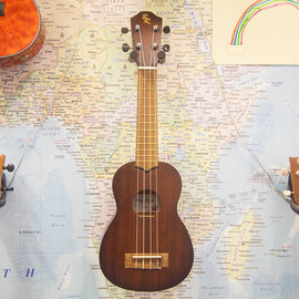 At Home: Deluxe Ukulele Starter Kit