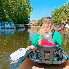 Canoe through Little Venice