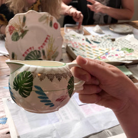 Vintage China Upcycling Workshop