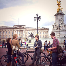 Cycle London Landmarks. Private Tour.