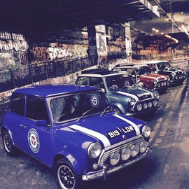 Discover London's Street Art by Mini Cooper