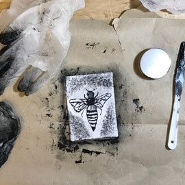 At Home: Intaglio Drypoint