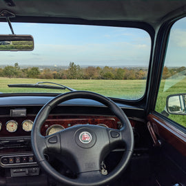 Escape the City in a Classic Mini Cooper
