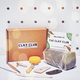 At Home: Clay Club + Paints