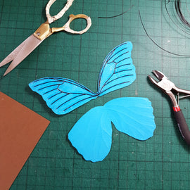 At Home: Paper Butterfly Kit + Live Tutorial