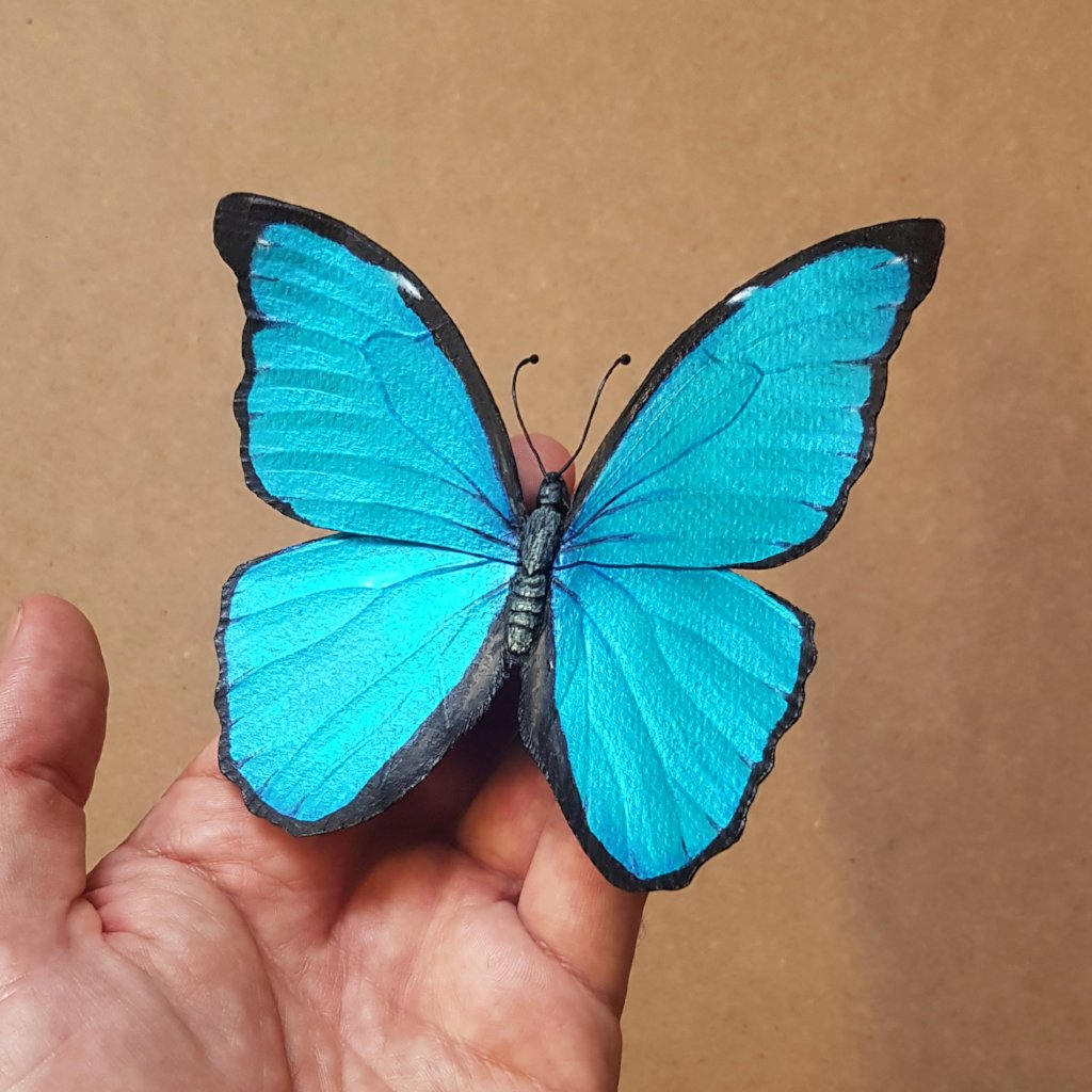 Birthday Gift Experiences For Her Taxidermy Paper Butterflies The