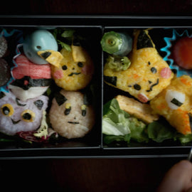 Jaw-dropping Japanese Bento