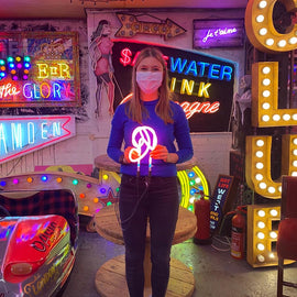 Neon Workshop at Gods Own Junkyard