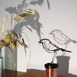 At Home: Create Wire Sculptures