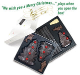 Gourmet Chocolate 3D Gift Box with a Christmas Jingle