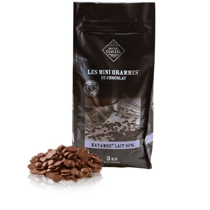 Baking Chocolate Morsels - Kayambe Lait 45% cocoa