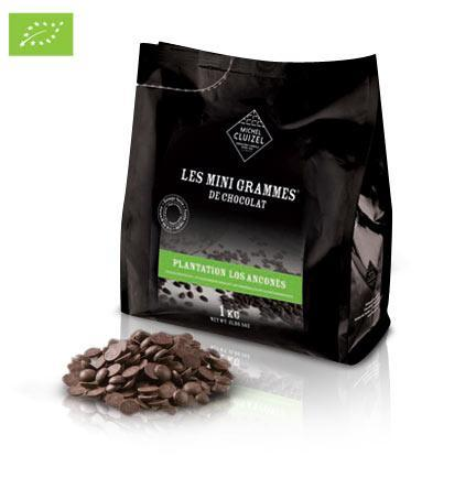 Chocolate Morsels - Los Anconès, Organic 67% - Chocolat Michel Cluizel USA