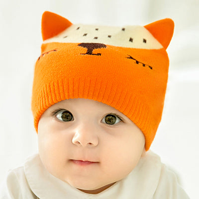 CieiK Baby Fotografie Props Newborn Cap crochet Fox Hats for Kids Boys  Girls Photography Baby beanie Autumn Winter Toddler 2430dcbe7d85
