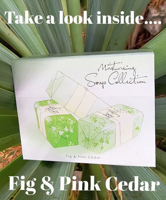 Fig & Pink Cedar Soap Collection