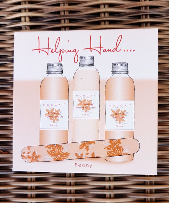 Peony Helping Hands Gift Set