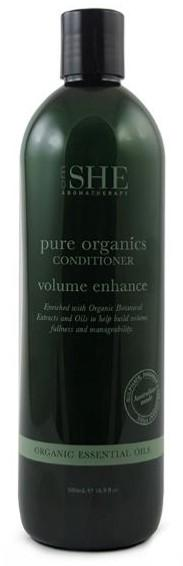 OM SHE Aromatherapy. Pure Organics Conditioner.  VOLUME ENHANCE  500ml