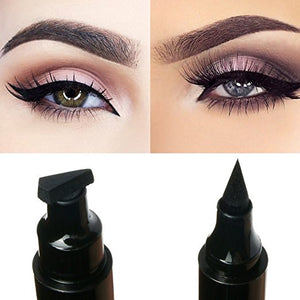 All in One Waterproof Eyeliner Pen With Stamp