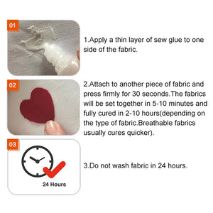 Easy Stitch Liquid Sewing Solution Kit!