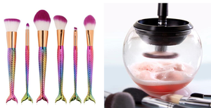 Best Makeup Brush Cleaner and Dryer Set