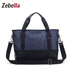 PU Leather Large Capacity Shoulder Handbag