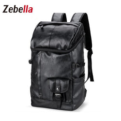 Z202 Men's Travel Leather Big Capacity Backpack