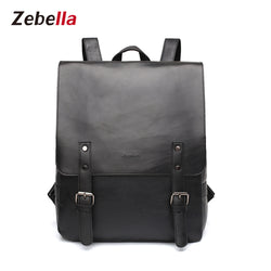 Z1390 Unisex vintage leather laptop backpack