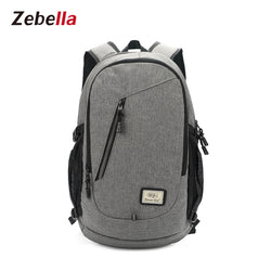 Z1823 USB Charging Nylon Travel Laptop Backpack