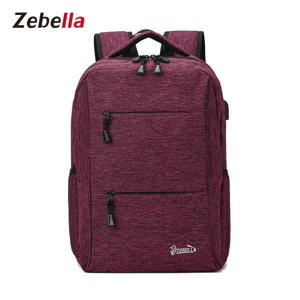 d43fa1566e Unisex Travel Lightweight 15 Inch Laptop Backpack - Zebella Official