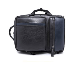 Z200 Men's PU Fashion Travel Leather Backpack