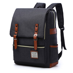 Z0719 Lightweight College School Laptop Backpack