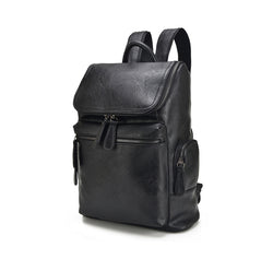 Z197 Fashion Men's PU Leather Vintage Backpack